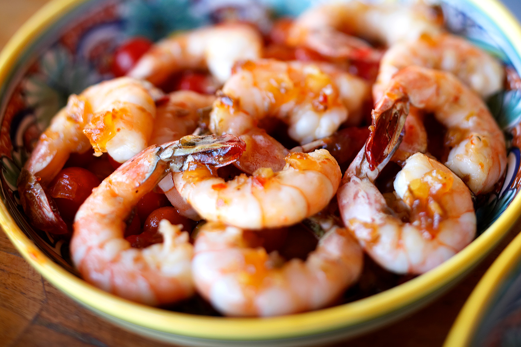 Shrimp Marinating