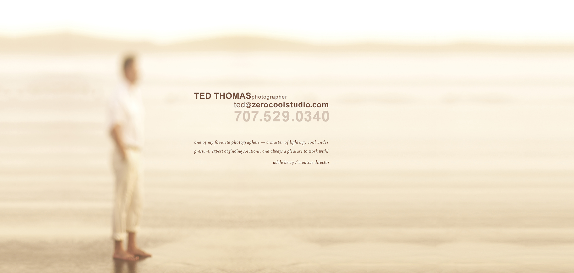Contact Ted Thomas